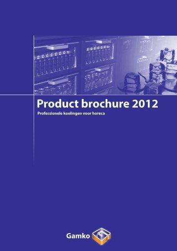 Gamko Brochure 2012 - Lassche en Keizer