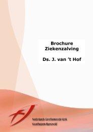 Informatiebrochure over ziekenzalving - NGK Voorthuizen – Barneveld
