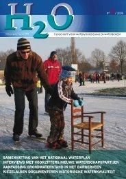 Inhoud H2O nummer 1, januari 2009 - H2O - Tijdschrift voor ...