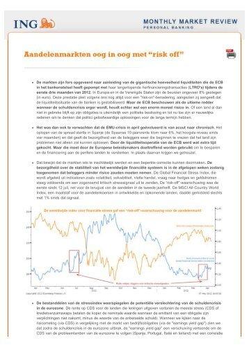 De markten zijn fors opgeveerd naar aanleiding van ... - NewsMaster