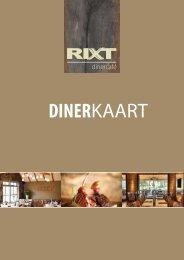 menukaart - Rixt