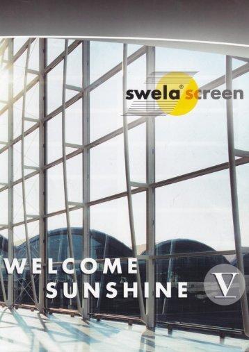 Brochure Swela screendoeken - Ervolux Zonweringen en rolluiken