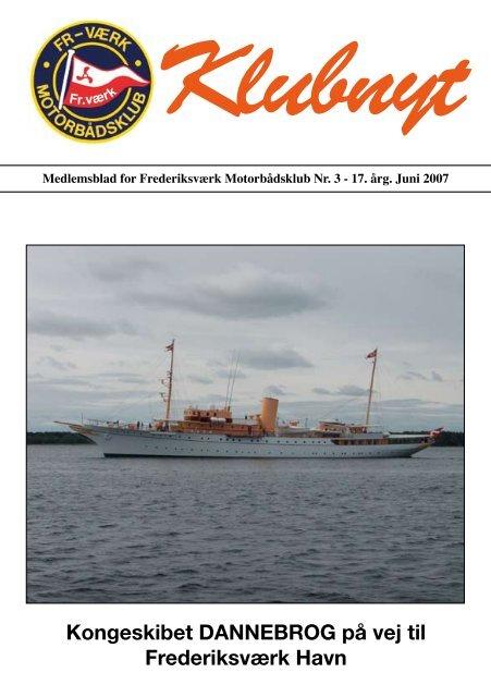 Kongeskibet DANNEBROG på vej til - Frederiksværk Motorbådsklub