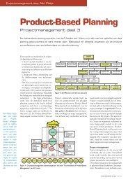 product based planning in de maritieme sector (pdf) - Gert Jan Schop