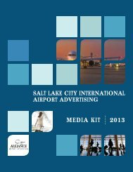 Download Media Kit PDF - Alliance Airport Advertising
