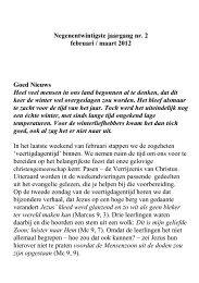 nummer 2 - KBO Noordwijk