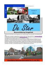 Wijkkrant De Ster, mei 2012 - Buurtcomité Hoogstraat