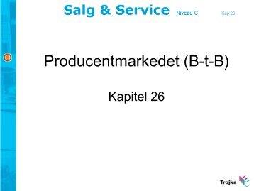 Producentmarkedet (B2B) - Lexitus-EU