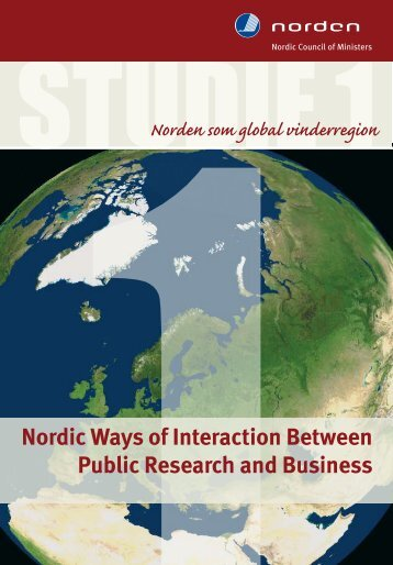 Nordic Ways of Interaction Between Public Research and Business