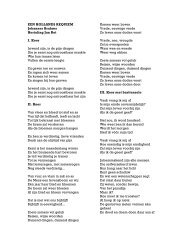 download pdf Hollands Requiem met tekst en uitleg - Jan Rot