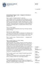 Rettelsesblad - Københavns Kommune
