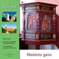 nr 5 for august - september 2007 - Voer og Agersted Sogne