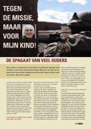 TEGEN DE MISSIE, MAAR VOOR MIJN KIND! - Henri Veldhuis