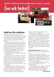 Nr 44 - apr 2013 - Folkrörelsen Nej till EU