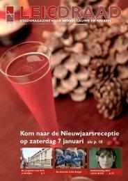 Kom naar de Nieuwjaarsreceptie op zaterdag 7 januari zie ... - Menen