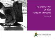 Att arbeta svart är både riskfyllt och olagligt - Medzeta.se