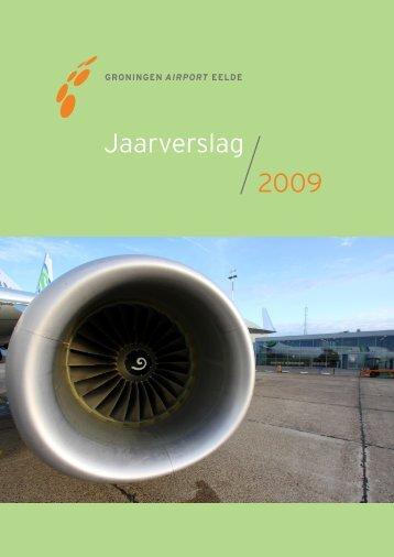 Jaarverslag 2009.pdf - Groningen Airport Eelde