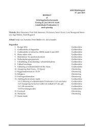 Referat den 25. juni - Blåkildegård