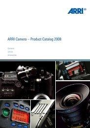 ARRI Camera General Catalogue - Musitelli