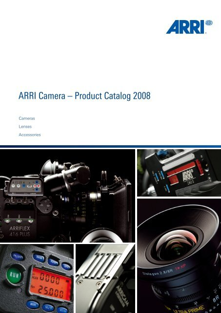 ARRI Camera General Catalogue - Musitelli