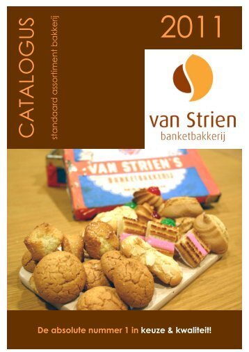 download onze catalogus - Banketbakkerij van Strien