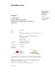Casusbeschrijving richtlijnen: ontwikkeling en toepassing van een ...