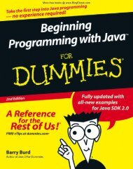 Part II: Writing Your Own Java Programs - Get a Free Blog