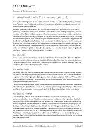 Interinstitutionelle Zusammenarbeit (IIZ) - Bundesamt für ...