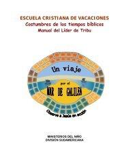 Manual del Lider de Tribu - IglesiaAdventistaAgape.org