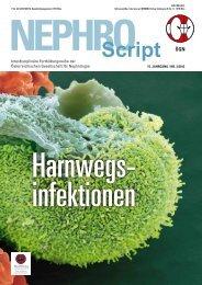 02/2012 - Harnwegsinfektionen - Was ist Nephrologie?