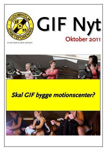 Skal GIF bygge motionscenter? - Gudumholm IF