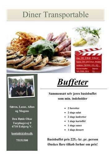 Buffeter - Restaurant Den Røde Okse