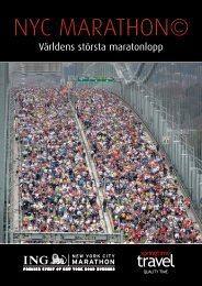 Världens största maratonlopp - Springtime Travel
