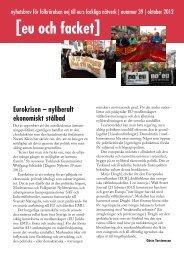 Läs mer - Folkrörelsen Nej till EU