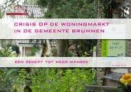 crisis op de woningmarkt in de gemeente brummen - ZN Design