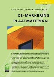 ce-markering plaatmateriaal - Trima