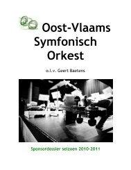 Oost-Vlaams Symfonisch Orkest - OVSO
