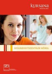 Download Infobroschüre - Kursana Privatklinik Gesundheitszentrum ...