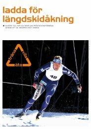 ladda för längdskidåkning - Uppladdningen