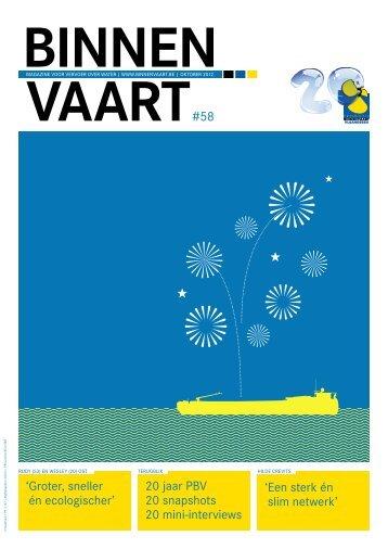 BINNEN VAART - Binnenvaart - Promotie Binnenvaart Vlaanderen