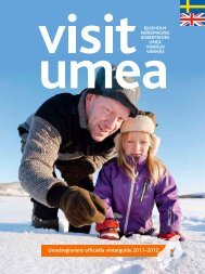 Umeåregionens officiella vinterguide 2011–2012