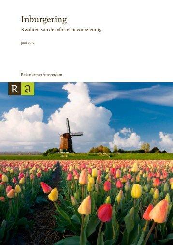Download - Rekenkamer Metropool Amsterdam - Gemeente ...