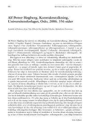 Alf Petter Høgberg, Kontraktstolkning, Universitetsforlaget ... - Retfærd