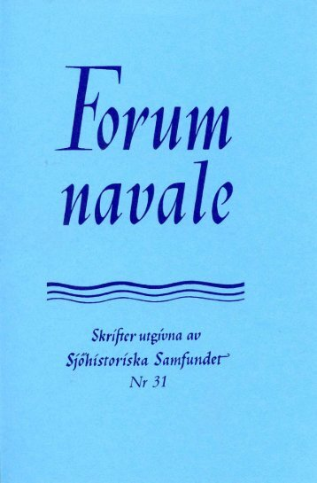 En stormig långresa med Fylgia 1919-1920 - Sjöhistoriska samfundet