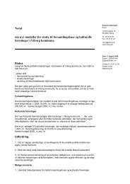 Notat om nye modeller for støtte til ... - Viborg Kommune