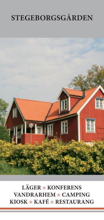 Ladda hem vår folder - Stegeborgsgården
