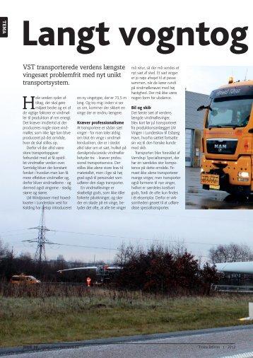 Tryk her for artikel vedr. VSTs transport af 73,5 m. vinge