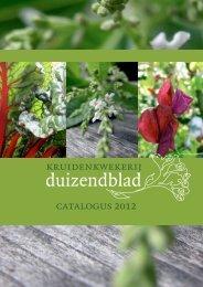 Download onze catalogus als pdf via deze link. - kruidenkwekerij ...