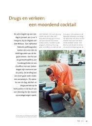 Drugs en verkeer: een moordend cocktail - Federale politie