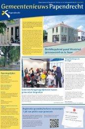 27 juni 2012 - Gemeente Papendrecht